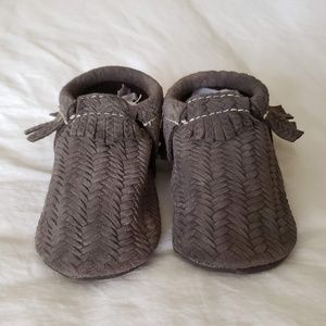 Freshly Picked Purl Sweater braided brown Mocs